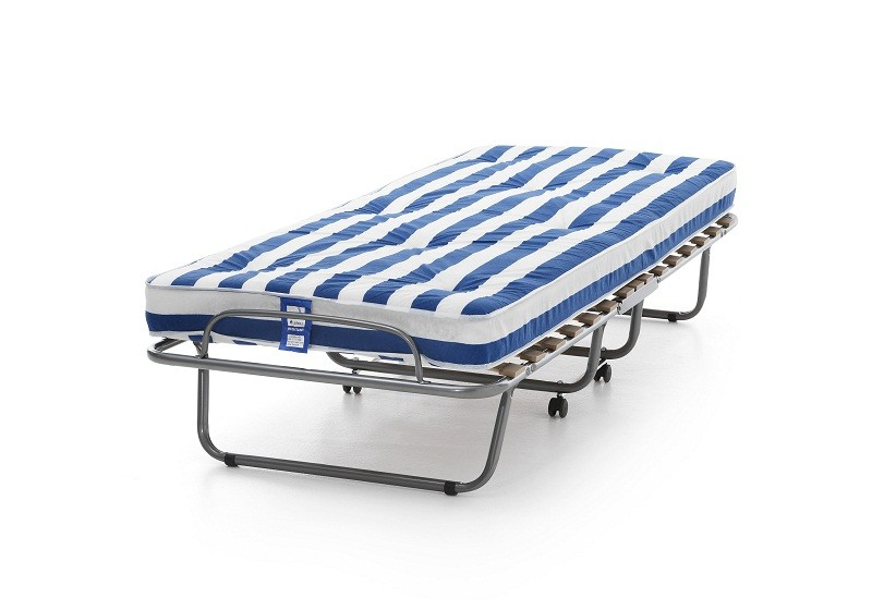 Arezzo folding guest bed with foam mattress Bed with mattress