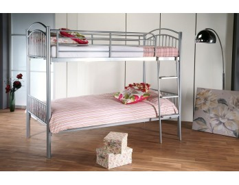 Silver Metal Bunkbed - only £149.99 for the frame