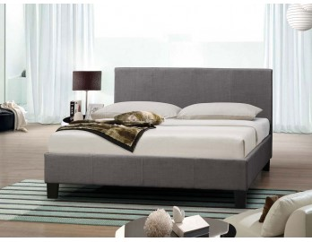 Fabric Bed Frame - Grey