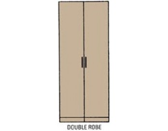 Double Oak Wardrobe