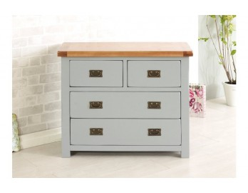 Grey Plus Oak 2 and 2 Chest