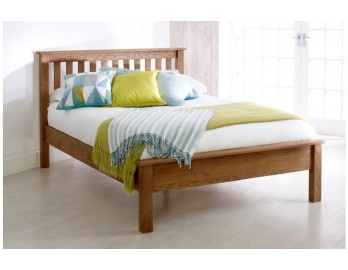Malvern Oak Low End Bed Frame