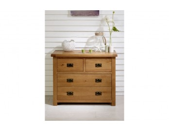 Malvern Oak 2 and 2 Chest