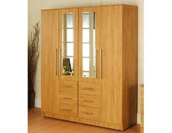 Four Door Complete Wardrobe