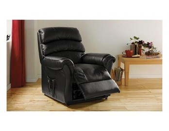 Warwick Rise and Recline Electric Chair - Black